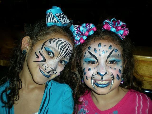 Face Painting Design 10